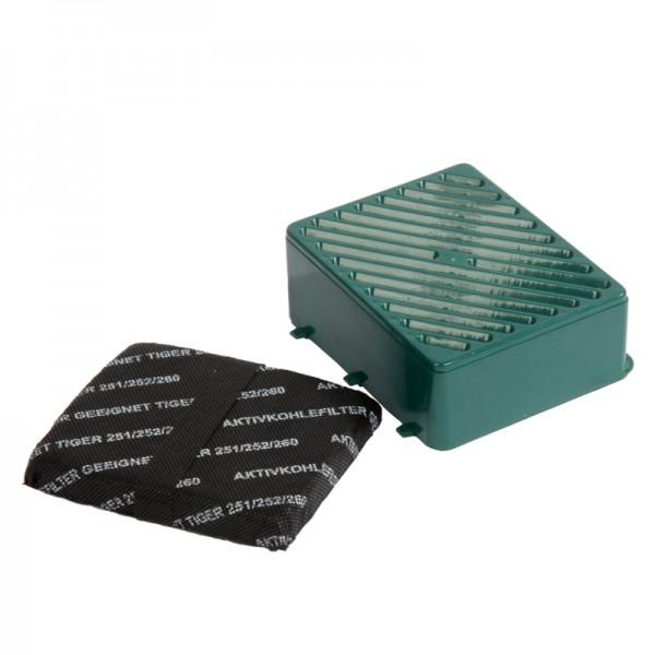 Hepafilter und Kohlefilter geeignet für Vorwerk Tiger 251/ 252