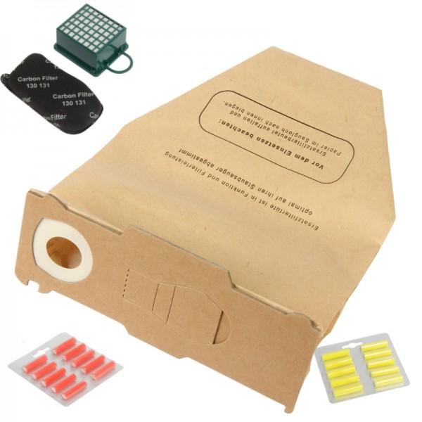 Set geeignet für Vorwerk Kobold 130/131- Hepa-,Tüten, Duft,Filter