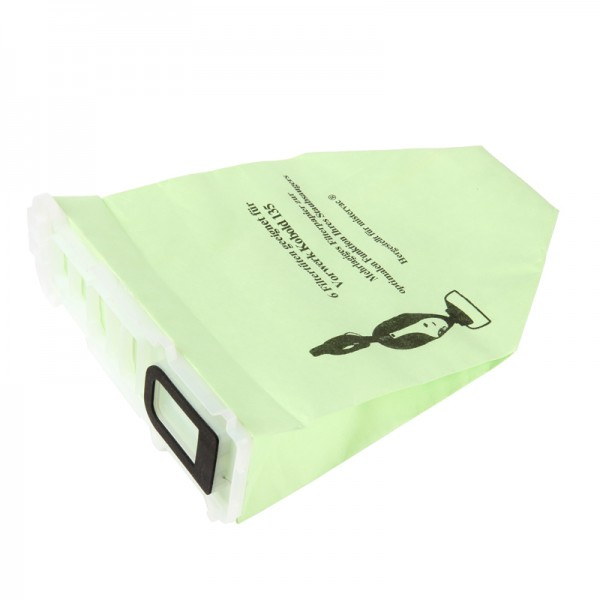 12 Staubsaugerbeutel, Filtertüten geeignet für Vorwerk Kobold 135/136